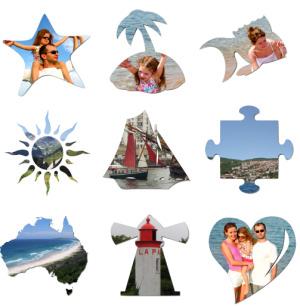 Decoupe de photos avec des gabarits plus élaborés
